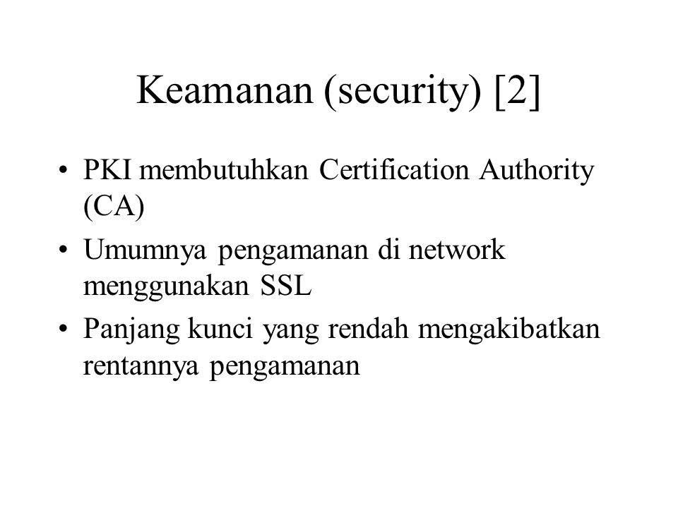 Keamanan (security) [2]